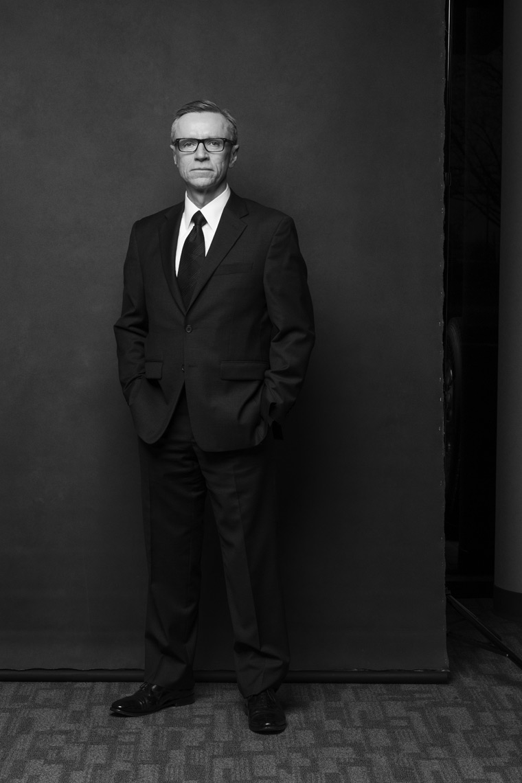 Corporate Portraits of Michelin executive by Ian Curcio