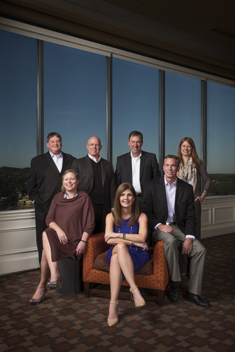 Corporate Portraits shot in Greenville South Carolina by Ian Curcio
