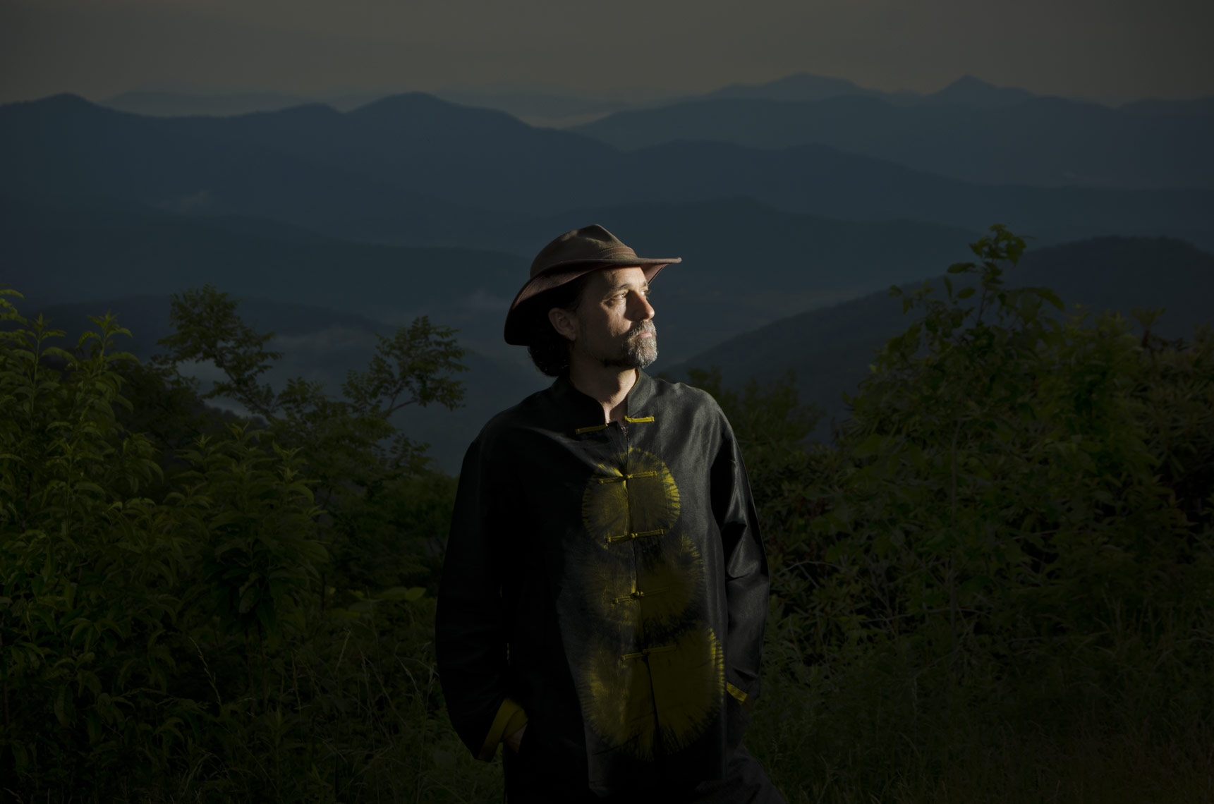 Commercial Portrait photographer Ian Curcio shot on the Blue Ridge Parkway.