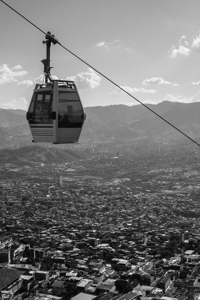 Medellin Colombia Cable Car